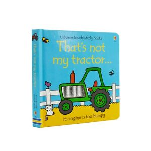 Thats Not My Tractor Touchy Feely Board Book By Fiona Watt & Rachel Wells