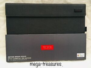 TUMI Aston Wrap Folio Case Designed for Microsoft Surface Pro 3/4 *NEW*