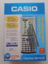 AS NEW CASIO Classpad 330-PLUS - Graphics Calculator-Stylus, Manuals+CD