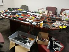 HUGE MIXED LOT HO SCALE TRAIN SET,ENGINES,CARS,TRACK,,NEW LOWER PRICES
