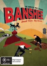 BANSHEE (COMPLETE SEASON 1 - DVD SET SEALED + FREE POST)