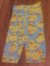 Oilily Brand Baby Chicks Cropped Legging Toddler Euro SZ 80 Chicken Lover