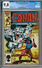 Conan the Barbarian #181 CGC 9.8 White John Buscema ONLY 5 GRADED 9.8
