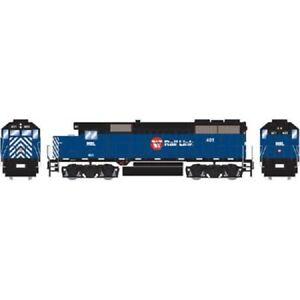 Montana Rail Link GP35 Locomotive #401 Standard DC HO - Roundhouse #RND12249