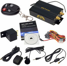 Localizzatore Satellitare Antifurto GPS GSM SPRS Tracker auto,moto, TK103-B 12V