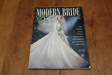 Vintage Modern Bride Magazine Fall 1951 Loaded with Advertisements! 184 Pages