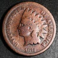 1873 INDIAN HEAD CENT - Near GOOD