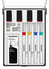 More details for liquidraw technical drawing pen set of 4 college set