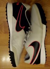 Nike Tiempo Genio II Leather TF Men's Turf Soccer Shoes 819216-001 SZ 10 Gray