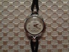 Rare Vintage Womans Roamer Wristwatch 17 Jewels Incabloc Swiss Made