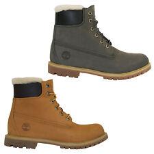 Timberland Icon 6 Inch Premium Lambskin Boots Waterproof Women Winter Boots
