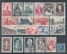 Timbres France Oblitérés - Année 1947 complète