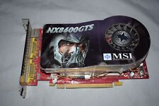 MSI GeForce NX8600GTS NVIDIA GPU Graphics Video Card