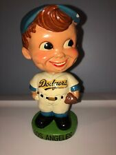 Los Angeles DODGERS Vintage Nodder Green Base Bobblehead Bobbing Bobble Head