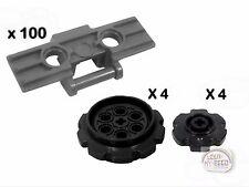 LEGO Technic - 100 Treads + 8 Sprockets - DBG - New - (Track,Gear,EV3,NXT,Robot)
