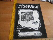 LSU Tiger Rag 1956 campus magazine Bill Haley and the Comets  V1 #2 Gordon Thetr