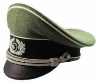 WH German Heer Offizier Schirmmütze Infanterie WH Visor Hat Gr. 57