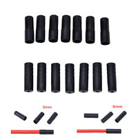 100X 4/5mm Bike Plastic Speed Chaning Brake Cable Wire Tips Caps Crimps NYFK