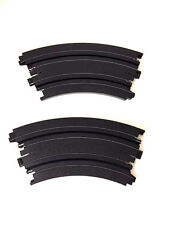 "9"" Inch Radius 1/8 Curve Track Pair Tomy Aurora Racemasters AW HO Slot AFX 70603"