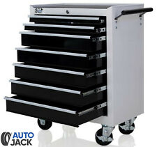 Autojack Lockable 7 Drawer Metal Tool Storage Chest Roller Cabinet Roll Cab