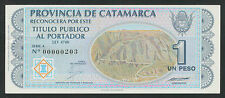 Argentinien / Argentina Catamarca 1 Peso (1993) P.S2351 (1)