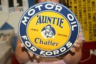 Auntie+Chatter+For+Fords+Motor+Oil+Ford+Porcelain+Metal+Sign