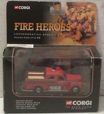 """Corgi Seagrave Sedan Pumper Firetruck 4""""  New in Box (Some wear on box)"""