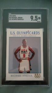 MICHAEL JORDAN SGC 9.5 1992 IMPEL  US OLYMPIC HOPEFULS #12 USA TEAM RARE