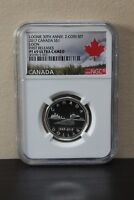 2017 Canada Loon 1st Releases Loonie 30th Anniv S$1 NGC PF70