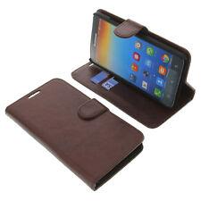 Funda para Lenovo A616 Book Style protectora Teléfono móvil estilo libro Marrón