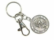 0289 - St Christopher Pendant Keyring Keychain Bag Charm Zipper Charm Protection