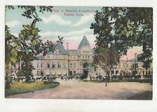 Buenos Aires Plaza y Estacion Constitucion Argentina Vintage Postcard US033