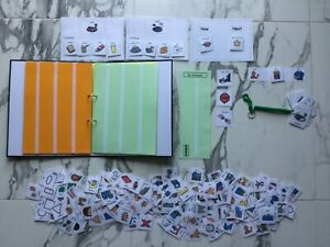 PECS/Boardmaker GOLD Pack&A4Storage/Communication Folder for autism/ASD/ADHD/SEN