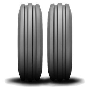 2 new Farmall Cub Allis 4.00-12  Deestone Front Tractor Tires & Tubes 400 12