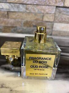 Fragrance Du Bois Oud Rose Intense Eau de Parfum 50ml EDP New Without Box
