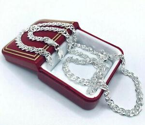 Halskette im Nonna-Design 925er.Sterling Silber 4,2mm stark! 50cm TOP    ND065