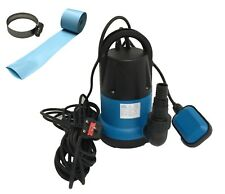 Happy Hot Tubs Submersible Water Pump + 5 metres Lay Flat Hose Tub Swimming Pool