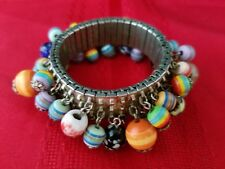 Vintage  Expandable Cuff Bangle Fashion Bracelet
