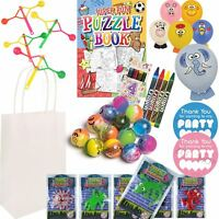 Pre Filled Kids Loot Paper Party Bags For Birthday Wedding Favours Gifts No10