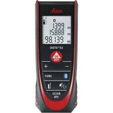 Leica DISTO D2 Misuratore di Distanza Laser - Nero/Rosso