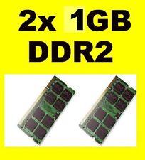 Memoria RAM per SAMSUNG R610 - NP-R610 - 2GB 2x1GB PC2-6400S DDR2 800mhz sodimm