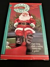 1988 Hallmark Stocking Hanger ~ Santa ~ MIB