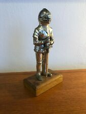 Vintage Retro 1950s 1960s Small Knight Table Lighter