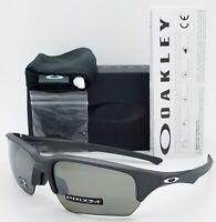 NEW Oakley Flak Beta sunglasses Steel Prizm Black Polarized 9372-0865 AUTHENTIC