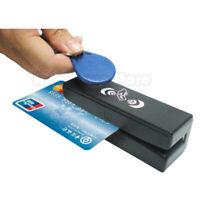 ZCS100 RFID Reader Writer Magnetic Stripe Card 3 Tracks Reader 13.56MHz MX53 US