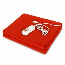 Heated Blanket Electric Thermostat Throws Blankets Automatic Heating Protections