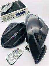 JET SKI 2 SPEAKER KIT STEREO AMP BLUETOOTH SYSTEM UNIVERSAL FIT ON ALL MODELS