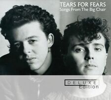 TEARS FOR FEARS SONGS FROM THE BIG CHAIR DELUXE EXPANDED EDITION 2 DISC CD SET