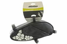 ELECTRA TOWNIE LADIES FRAME BAG CLASS USA TYPE CRUISER,DRAGSTER BLACK FLORAL
