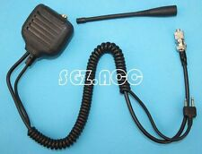 Hand held Mic with Speaker & Antenna for Icom Radio IC-F11S IC-F21S IC-F24S